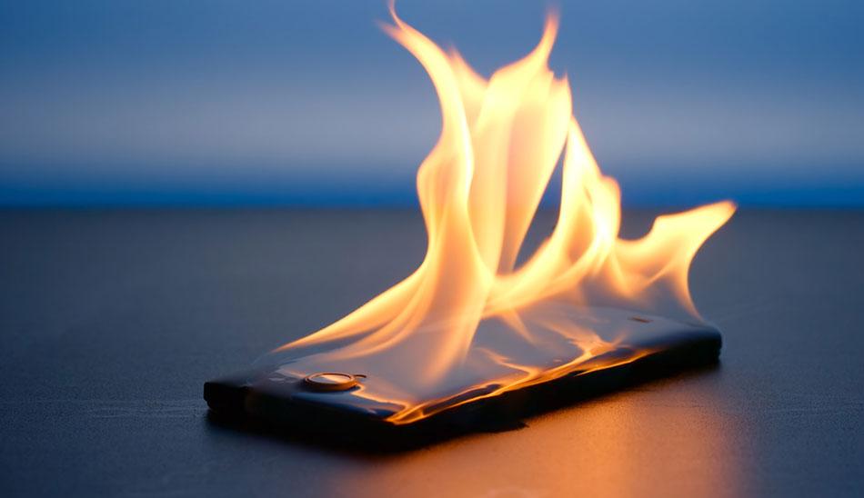 ابداع پوشش جدید برای جلوگیری از آتش گرفتن باتری گوشی